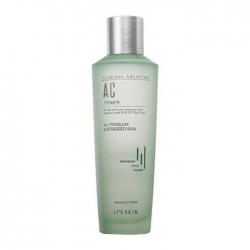 It's Skin Clinical Solution AC Toner - Тонер Успокаивающий для проблемной кожи с маслом чайного дерева, 150 мл