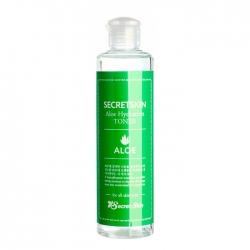 Secret Skin Aloe Hydration Toner - Тонер для лица с экстрактом сока листьев алоэ, 250мл