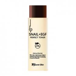 Secret Skin Snail+EGF Perfect Toner - Тонер для лица с экстрактом улитки и фактором роста EGF, 150мл