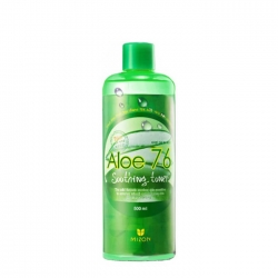 Mizon Aloe 76 Soothing Toner - Тоник для лица с экстрактом алоэ вера, 500 мл