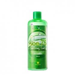 Mizon Aloe 76 Soothing Toner - Тоник для лица с экстрактом алоэ вера, 500 мл