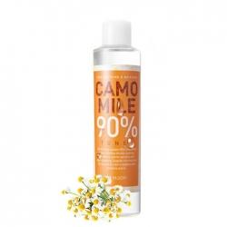Mizon Camomile 90% Toner - Тоник Увлажняющий с экстрактом ромашки для чувствительной кожи, 210 мл
