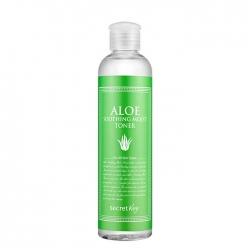 Secret Key Aloe Soothing Moist Toner - Тоник для лица с экстрактом алоэ, 248 мл