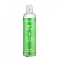 Secret Key Aloe Soothing Moist Toner - Тоник для лица с экстрактом алоэ, 248 мл