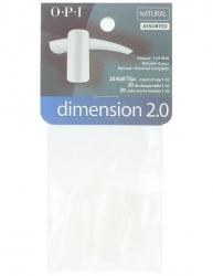OPI Dimension 2.0 - Типсы в ассортименте 20 шт