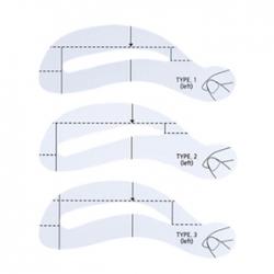 The Saem Eyebrow Guide - Трафареты для бровей