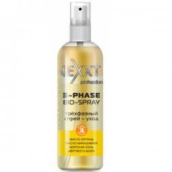 Nexxt Professional 3-Phase Bio-Spray - Трехфазный спрей-уход, питание, защита, дыхание волос, 250 мл