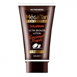 MegaTan Coconut Tropic Tanning booster lotion - Лосьон для загара, 125 мл