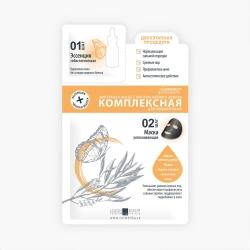 Premium HomeWork - Ампульная маска с маслом чайного дерева Комплексная для жирной кожи 1 шт