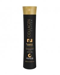 Honma Tokyo Collagen Caviar Shampoo - Шампунь для сухих, подвергшихся хим.воздействию волос 300 мл