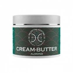 Valentina Kostina Organic Cosmetic Cream Butter Almond - Крем-баттер для тела миндальный, 100 мл