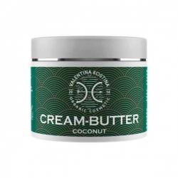 Valentina Kostina Organic Cosmetic Cream Butter Coconut - Крем-баттер для тела кокосовый, 200 мл