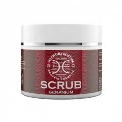Valentina Kostina Organic Cosmetic Scrub Geranium - Скраб для тела Герань, 110 мл