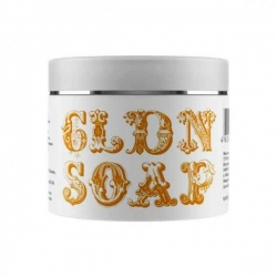 Valentina Kostina Organic Cosmetic Soap Golden - Жидкое мыло для волос и тела золотое, 200 мл
