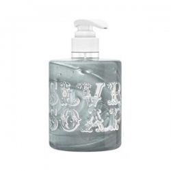 Valentina Kostina Organic Cosmetic Soap Silver - Жидкое мыло для волос и тела серебряное, 300 мл
