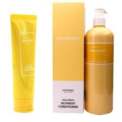Evas Valmona Yolk-Mayo Conditioner - Кондиционер для непослушных и поврежденных волос, 100 мл