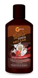 Tan Master Dark Coco Nectar - Крем с бронзаторами для интенсивного загара с ароматом кокоса, 120мл