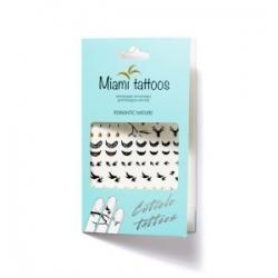 Miami Tattoos Romantic Nature - Временные татуировки для рук, 10*15 см