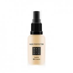 Beautific Nude Perfector Hydra BB Cream - Тонирующий BB-крем с гиалуроновой кислотой - №2 теплый бежевый, 30 мл
