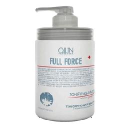 Ollin Full Force - Тонизирующая маска с экстрактом пурпурного женьшеня 650 мл