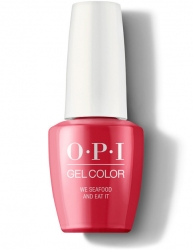 OPI Lisbon Gel Color - Гель-Лак для ногтей We Seafood and Eat It, 15 мл