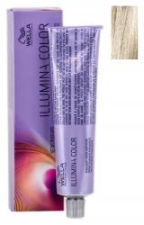 Wella Professionals Illumina Color - Стойкая крем-краска для волос 10/69 яркий блонд фиолетовый сандре 60мл
