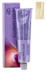 Wella Professionals Illumina Color - Стойкая крем-краска для волос 10/38  яркий блонд золотисто-жемчужный 60 мл
