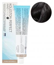 Wella Koleston Perfect Innosense - Стойкая крем-краска для волос 3/0 темно-коричневый 60мл