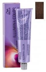 Wella Professionals Illumina Color - Стойкая крем-краска для волос 6/76 темный блонд коричнево-фиолетовй 60 мл