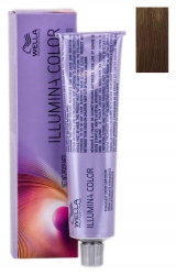 Wella Professionals Illumina Color - Стойкая крем-краска для волос 5/02 светло-коричневый натурально матовый 60 мл