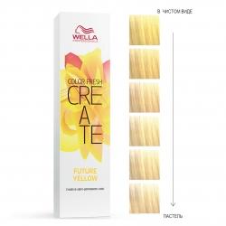 Wella Professionals Color Fresh Create - Оттеночная краска для ярких акцентов - Больше чем желтый 60мл