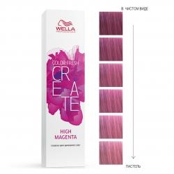 Wella Professionals Color Fresh Create - Оттеночная краска для ярких акцентов - Электрик маджента 60мл