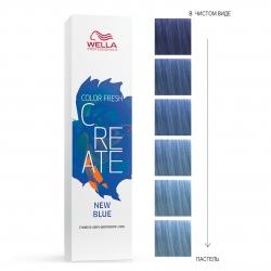 Wella Professionals Color Fresh Create - Оттеночная краска для ярких акцентов - Ночной синий 60мл