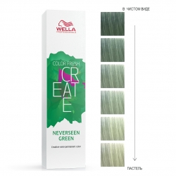 Wella Professionals Color Fresh Create - Оттеночная краска для ярких акцентов - Тропический зеленый 60мл