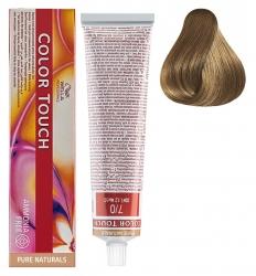 Wella Professionals Color Touch Pure Naturals - Интенс.тонирование без аммиака 7/0 блонд 60мл