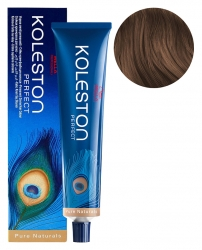 Wella Koleston Perfect Pure Naturals - Стойкая крем-краска 7/07 олива 60мл