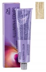 Wella Professionals Illumina Color - Стойкая крем-краска для волос 10/1 яркий блонд пепельный  60 мл.