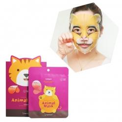 Berrisom Animal Mask Cat - Маска для лица, Кошка(с морским коллагеном)