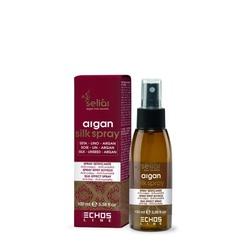 Echos Line Seliar Argan Silk Effect Spray - Спрей для придания блеска и шелковистости, 100 мл