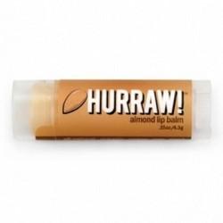 Hurraw Balm Almond - Бальзам для губ, Миндаль, 4,3 мл