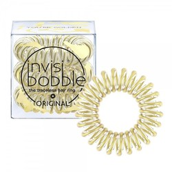 Invisibobble ORIGINAL Time To Shine You're Golden - Резинка для волос, 3 шт