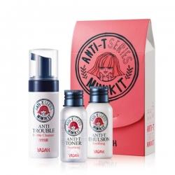 Yadah Anti-T Mini Kit - Мини-набор для ухода за жирной кожей
