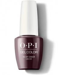 OPI Peru Gel Color - Гель-Лак для ногтей Yes My Condor Can-Do!, 15 мл