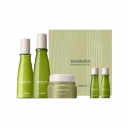The Saem  Urban Eco Harakeke Deep Moisture Skin Care 3 Set -  Набор кремов,150мл/150мл/30мл/30мл/50мл