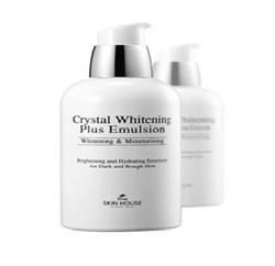 The Skin House Crystal Whitening Plus Emulsion - Осветляющая эмульсия против пигментации , 130мл