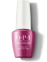 OPI Grease collection Gel Color - Гель-Лак для ногтей You're the Shade That I Want, 15 мл