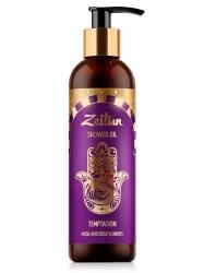 "Zeitun Shower Оil Tempt. Musk and Rosy Flowers - Масло для душа ""Соблазн"" с ароматом мускуса и розовых цветов, 250мл"
