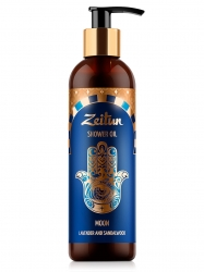 Zeitun Shower Oil Moon Lavender And Sandalwood - Масло для душа Луна лаванда/сандал, 250 мл