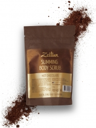 Zeitun Slimming Body Scrub Hot Chocolate - Скраб для тела Моделирующий с молотым какао, 50г