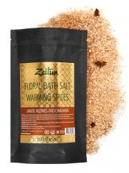 Zeitun Aromatic Bath Salt Warming Spices - Соль для ванн «Согревающие специи» с имбирем, мускатным орехом и корицей,500г